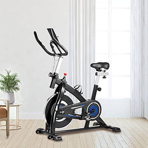 Ciclette per casa Con trasmissione a cinghia silenziosa Spin bike Sensori palmari Cyclette diadora Per l allenamento cardio in palestra a casa