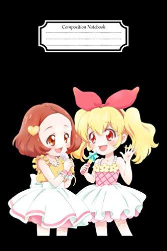 Composition Notebook:Aikatsu Ichigo Ran Aoi #2 Anime Manga Journal/Notebook Blank Lined Ruled 6x9 120 Pages