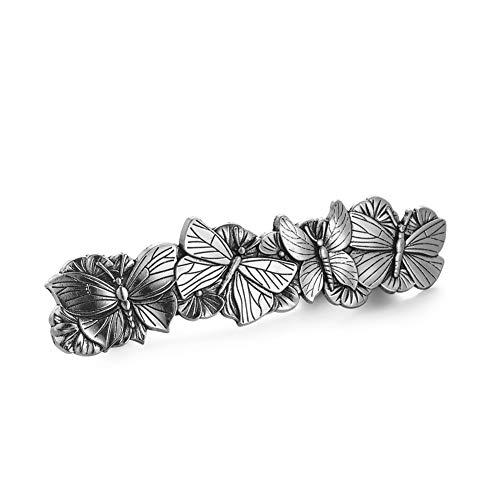 KKJOY Pasadores de metal vintage vikingos clip de pelo hecho a mano tocados celta joyería accesorios regalo para mujeres niñas