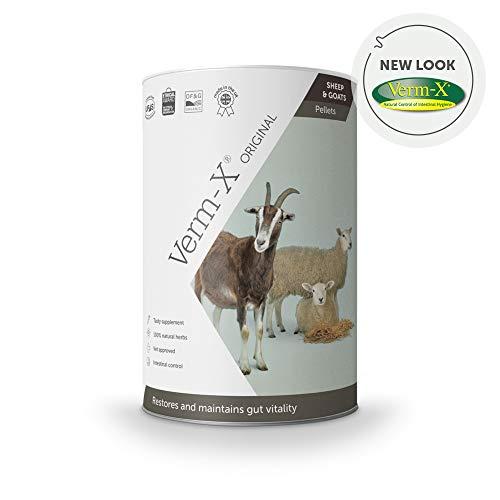 Verm-X kräuter Pellets Für Schafe Und Ziegen-750 Gm Tube, Clear, Unisex