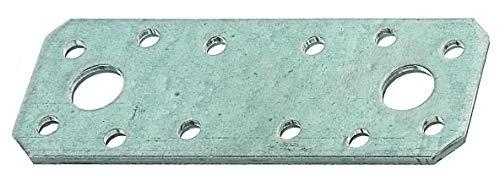 GAH-Alberts 330088 Flachverbinder | sendzimirverzinkt | 96 x 35 mm | 25er Set