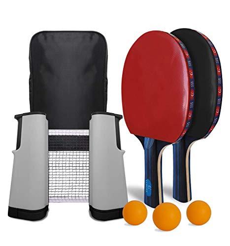Coiote Ping Pong Juego de Tenis de Mesa, Red de Tenis de...