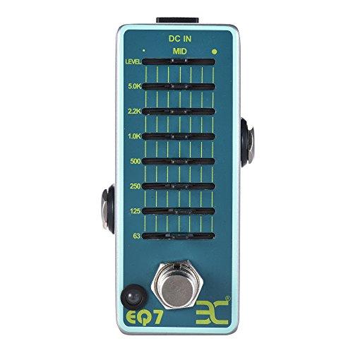 EX 7 Band EQ Equalizer Mini Guitar Pedal