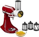 Cortadora ralladora rebanadora Accesorio Kitchenaid 5KSMVSA. Original. Valido para Todos los Robots de Cocina Kitchenaid - Garantía Española
