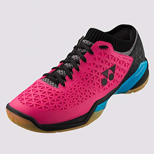YONEX Power Cushion Eclipsion Z Pink Mens Indoor Court Shoes - 9.5 / Pink/Blue/D Medium