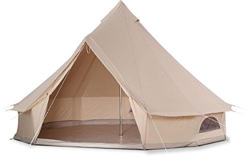 Cozy house Tente de Glamping de Famille de Toile extérieure imperméable de Quatre Saisons (Bell...