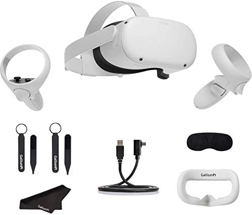 Oculus Quest 2 All in One VR Headset 256GB Advanced Virtual Reality Gaming Headset with GalliumPi product image