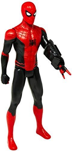 """Marvel Hasbro E5766 - Boneco 2019, Homem Aranha, Spider-Man,12"""" Figura de Ação, 4+ Anos, Vermelho/Preto"""