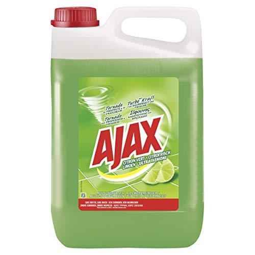 Ajax Allzweckreiniger Citrofrische, 1 x 5l - Haushaltsreiniger für Sauberkeit & Frische, im praktischen Kanister