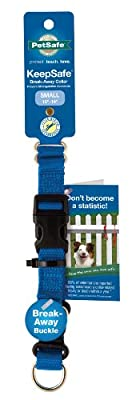 PetSafe KeepSafe Break-Away Collar, Prevent Collar Accidents for Your Dog or Puppy, Improve Safety, Compatible with Lead Use, Adjustable Sizes by Toys & Behavior