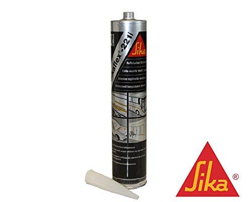 Sikaflex 221i Haftstarker Dichtstoff 300 ml schwarz