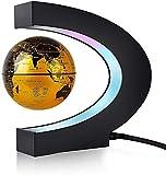Globo flotante magnético levitación mapa del mundo para regalo de Navidad, decoración del escritorio del hogar de la oficina