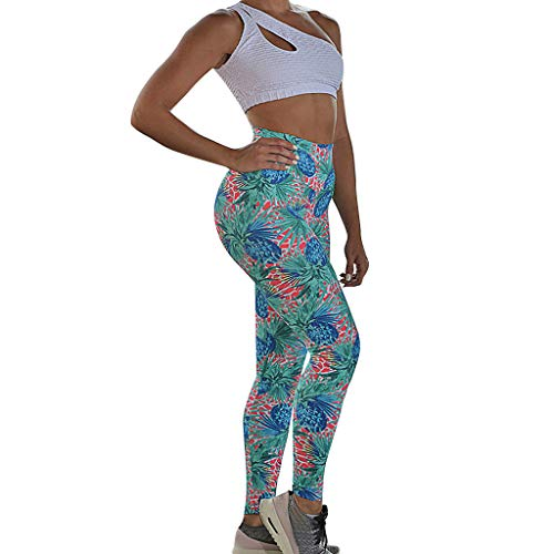 Dames Yoga broek Push Up Fitness Gym Sport Leggings Running Bloemenprint Yoga Naadloze trainingsbroek Femme Hoge taille