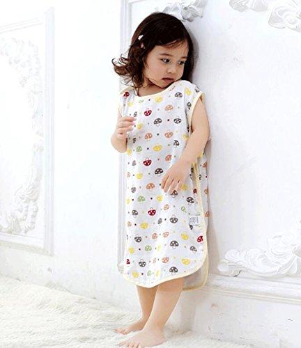 Jingdian fzw Sacs de Couchage pour bébés Ressort et été Section Mince de Coton Nouveau-né jambières pour Enfants Anti-Kick Quilt (Taille : M)