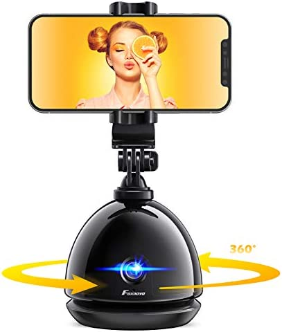 Phone Smart Tracking Selfie Tripod NO APP Foxnovo 360 Rotation Auto Face Tracker Stabilizer product image