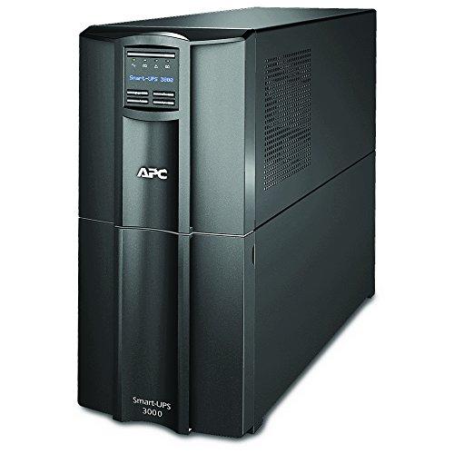 APC 3000VA Smart UPS with SmartConnect, SMT3000C Sinewave UPS Battery...