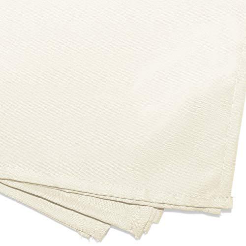 douceur d'intérieur 3 serviettes de table 40x40 cm essentiel naturel