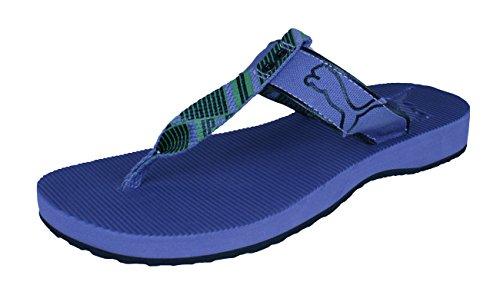 PUMA Criss Crosser T Strap Damen Sandalen/Flip Flops -Purple-38