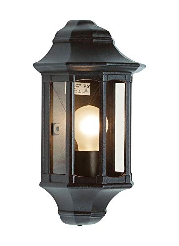 Saxby 1818S - Traditional IP44 60W Incandescent Exterior Wall Light