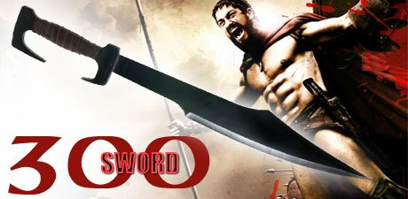 From The Movie 300 Spartan The Sword of King Leonidas 24' With Sheath