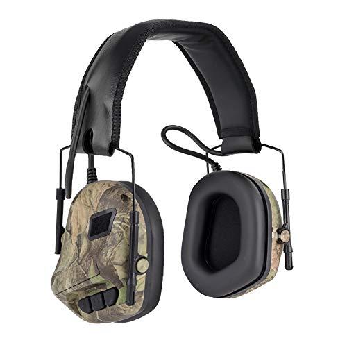 EFINNY Auriculares con cancelación de ruido Auriculares Accesorios para juegos de caza Accesorios para escuchar música al aire libre
