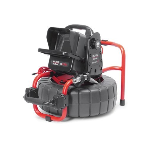 Ridgid 48113 SeeSnake Compact2 Battery and 1 Charger Video Inspection System, Black