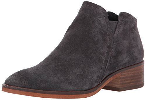 Dolce Vita Women's TAY Ankle Boot, Anthracite Suede, 10 Medium US