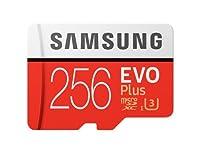 Samsung microSDXC カード 256GB EVO+ Class10 UHS-I U3対応 最大読込速度 100MB/s サムスン [並行輸入品]