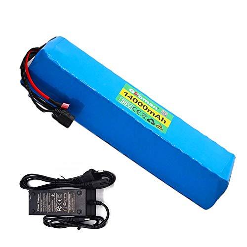 36V 14Ah batería de Litio 10S4P Bateria Bicicleta Electrica 18650 batería de Alta Potencia e-Bike Bicicleta eléctrica BMS + Cargador de 42v