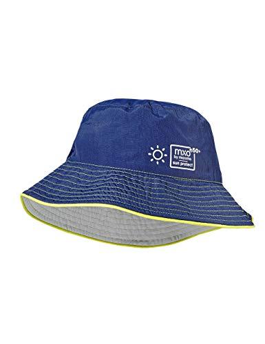 maximo Jungen Hut Mütze, Mehrfarbig (Navy/Silber 4809), (Herstellergröße: 51)