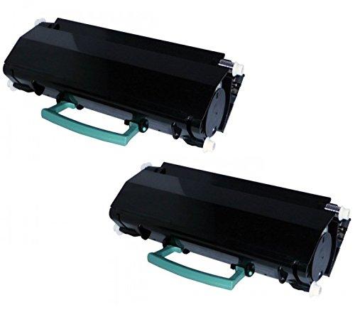 2pz x X264 X363 X364 Toner Compatibile Nero per Lexmark X364DN, X364DW, X363DN, X264DN