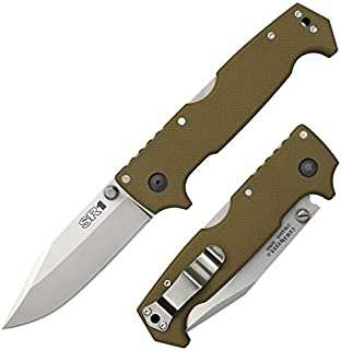 Cold Steel SR1 Knife, OD Green, 4-1/2