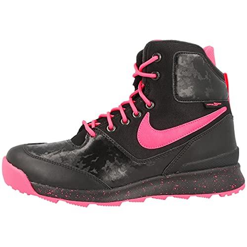 Nike Stasis ACG (GS), Scarpe da Fitness Uomo, Nero/Rosa/Bianco (Black Hyper Pink White), 36 EU