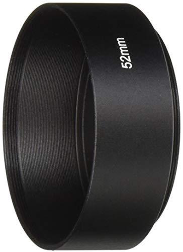 FOTGA Screw Mount 52 mm standaard metalen lens hood voor Canon Nikon Pentax Sony Olympus