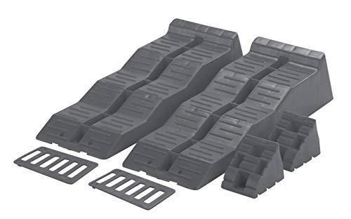 Fiamma Berger Kit Level Up Set Unterleg-/Auffahrtskeil zum Bodenauslgeich +Tragetasche Ausgleichskeil