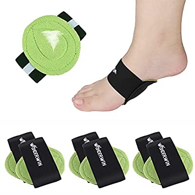 Arch Support,3 Pairs Compression Fasciitis Cushioned Support Sleeves, Plantar Fasciitis Foot Relief Cushions for Plantar Fasciitis, Fallen Arches, Achy Feet Problems for Men and Women… by