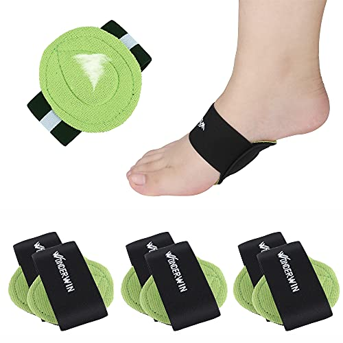 Arch Support,3 Pairs Compression Fasciitis Cushioned Support Sleeves,...