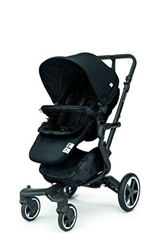 Concord Neo Plus - Silla de paseo plegable y multifuncional, Color Shadow Black