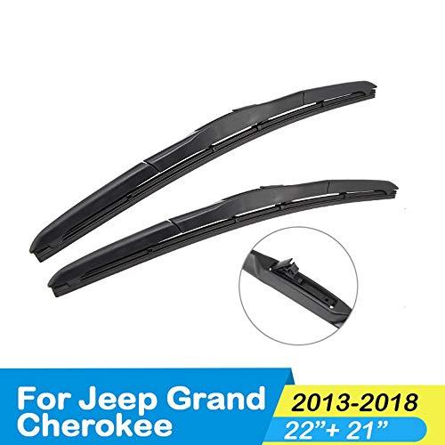 XLTWKK Auto Wischer Auto Dekoration Auto Wischerblatt Auto reinigen die Scheibenwischerblatt, für Jeep Grand Cherokee 2000 bis 2018