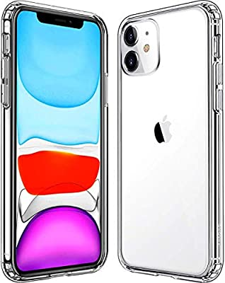 Mkeke Compatible with iPhone 11 Case, Clear iPhone 11 Cases Cover for iPhone 11 6.1 Inch from Mkeke