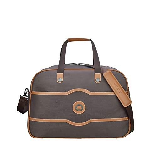 Delsey Paris Chatelet Soft Air Travel Bag, 54 cm, 44.9 L, Chocolate