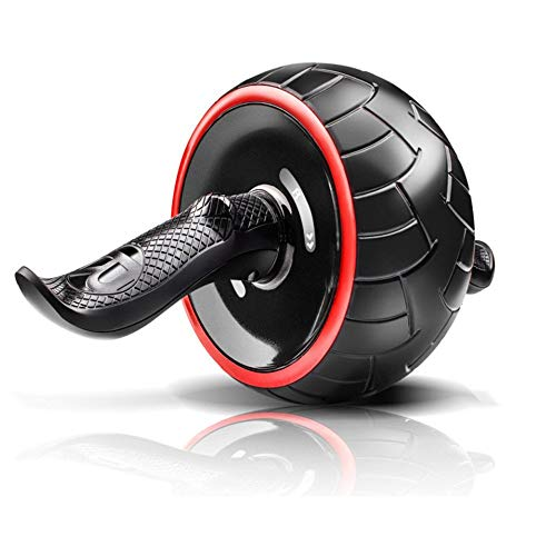Qiutianchen Abdominal Rad Abdominal Rad Abdominal Rad Huge Fitness Roller Mute AB Weight Loss Fitnessgeräte for Home Gym Bauchtrainer for Home Gym Fitness