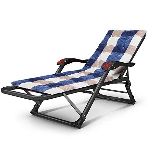 Qing MEI Liegestuhl Ausklappbarer Hause Sessel Multifunktionale Büro Mittagspause Stuhl Single Sommer Sonnenliege Outdoor Camping Strandkorb