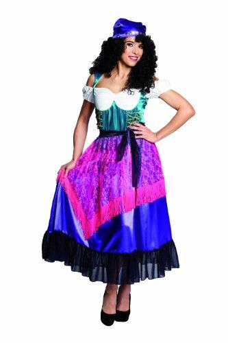 Rubie's 1 3703 38 - Zigeunerin Kostüm, Größe 38, 2-teilig