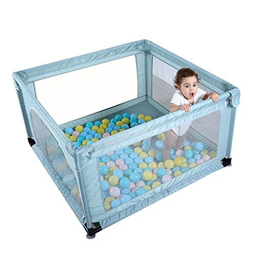 Parc pour enfants parc pour enfants Barrière de jeu barrière carrée pour enfants barrière de sécurité incassable aire de jeux intérieure, convient aux enfants âgés de 0 à 5 ans, envoie 200 balles mari