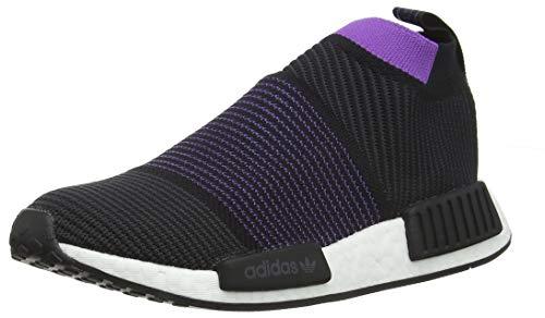 adidas Damen NMD_cs1 Pk W Gymnastikschuhe, Schwarz (Core Black/Carbon/Active Purple), 37 1/3 EU