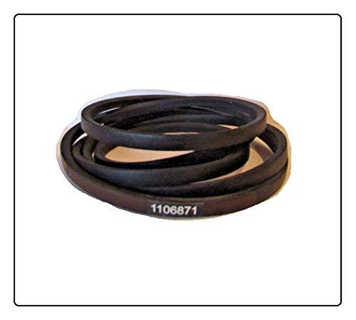 (New) Aramid Exact OEM SPEC Belt Toro 110-6871 1106871 TIMECUTTER Z4200 74360 74363 (Other Models in Description + Free Useful Ebook)