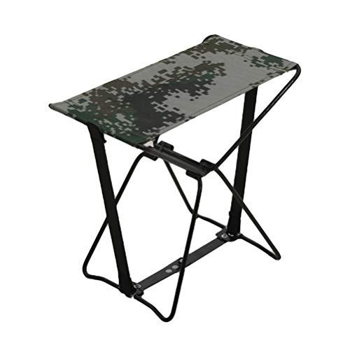Silla plegable al aire libre asiento portátil de acero silla silla de playa asiento para pesca playa barbacoa camping picnic