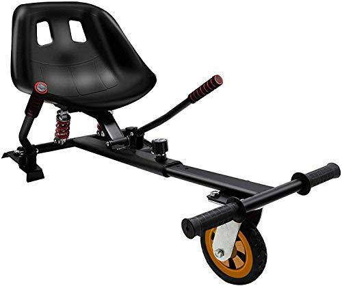 """Wxnnx Hoverboard Go Kart con Accesorio de sujeción de Asiento de suspensión Trasera para Rueda de Goma de Tablero Flotante de 6.5""""8"""" 10"""""""