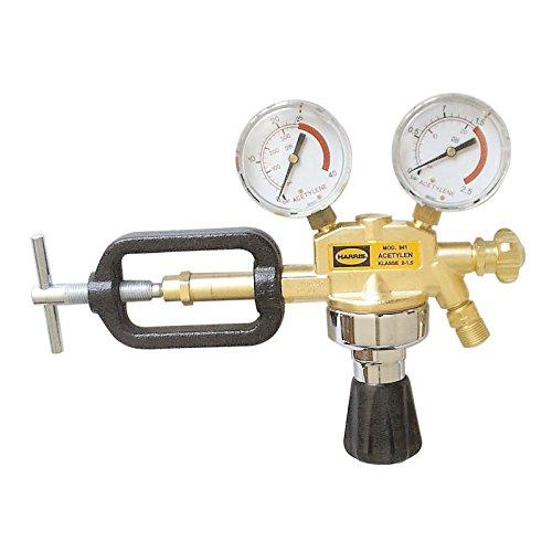 HARRIS Druckminderer Gasdruckregler Acetylen 1,5 bar Bügelanschluß